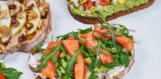 kanapki, dietetyczne kanapki, kanapki na diecie, co zamiast masła, czym zastąpić margarynę, kanapki na słodko, kanapki na wytrawnie, chleb na diecie, zdrowa dieta, odchudzanie